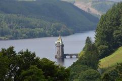 Vyrnwy behållare Powis, Wales, Royaltyfri Bild