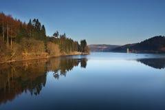 vyrnwy lake Fotografering för Bildbyråer