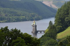 Vyrnwy Reservoir Powis, Wales, Royalty Free Stock Image