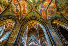 Vysehrad Basilica, Prague, Czech Republic Stock Photography