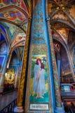Vysehrad Basilica, Prague, Czech Republic Stock Photo