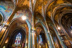 Vysehrad Basilica, Prague, Czech Republic Royalty Free Stock Image
