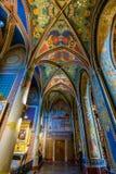 Vysehrad Basilica, Prague, Czech Republic Stock Images