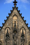 Vysehrad cathedral stock image