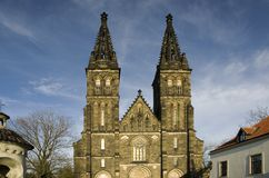 Vysehrad Church - Prague Royalty Free Stock Photos