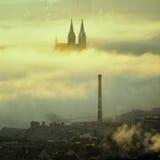 Vysehrad church, Prague, Czech republic Stock Photo