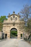 Vysehrad Gate Leopold Gate in PRAGUE, CZECH REPUBLIC Royalty Free Stock Image