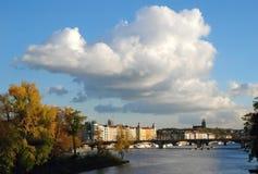 Vysehrad, Praga, repubblica Ceca fotografie stock libere da diritti