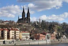 Vysehrad in Prague Stock Image