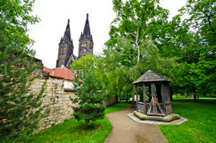 Vysehrad in Prague, Czech Republic Stock Photo