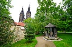 Vysehrad w Praga, republika czech zdjęcie stock