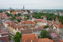 Vyshgorod - a historical center of Tallinn. Estonia Stock Photography