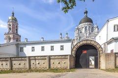 Vyshnevolotskykazan Klooster royalty-vrije stock afbeeldingen