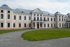 Vyshnivets,乌克兰- 2016年6月10日:Vyshnevetsky家庭宫殿在捷尔诺波尔地区 库存照片