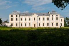 Vyshnivets,乌克兰- 2016年6月10日:Vyshnevetsky家庭宫殿在捷尔诺波尔地区 免版税库存图片