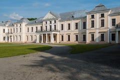 Vyshnivets,乌克兰- 2016年6月10日:Vyshnevetsky家庭宫殿在捷尔诺波尔地区 免版税库存照片
