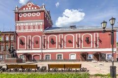 Vyshny Volochek Theater van het Vyshnevolotsky het Regionale Drama royalty-vrije stock afbeelding