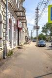 Vyshny Volochyok Kazan Vooruitzicht Cityscape stock afbeelding