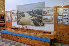 Vyshny Volochyok muzeum Lokalny tradyci ludowa wnętrze Obrazy Stock