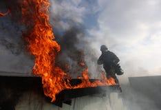 VYSKOV, REPUBBLICA CECA, 8 NOVEMBRE: Addestramento del Th Immagini Stock