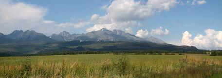 Vysoké Tatry Словакия Стоковая Фотография
