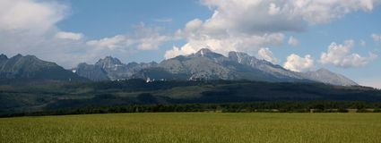 Vysoké Tatry Slovaquie Image libre de droits