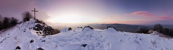 Vysoka peak in Low Carpathians Mountians, Slovakia Stock Photography