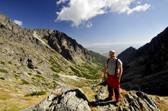 Vysoke Tatry - haut Tatras Photos stock