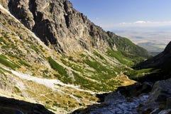 Vysoke Tatry - haut Tatras Images stock