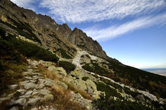 Vysoke Tatry - High Tatras Royalty Free Stock Photo