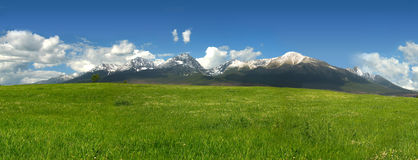 Vysoke Tatry (High Tatras) Royalty Free Stock Photography