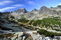Vysoke Tatry - hohes Tatras Stockfoto