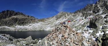 Vysoke Tatry mountain scenery , Slovakia Royalty Free Stock Photography