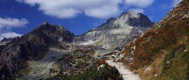 Vysoke Tatry national park mountain scenery , Slovakia Stock Photography