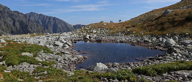 Vysoke Tatry National park , Slovakia stock images