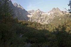 Vysoke Tatry panorama Royaltyfri Bild