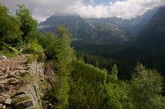 Vysoke Tatry, Slowakei Stockbild