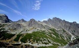 Vysoke Tatry - Tatras elevado Imagem de Stock