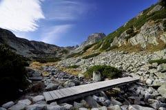 Vysoke Tatry - Tatras elevado Foto de Stock Royalty Free