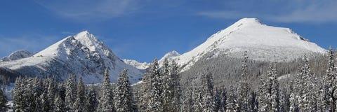 Vysoke Tatry - winter mountains Stock Photography