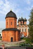 Vysokopetrovsky修道院,莫斯科 免版税库存图片