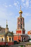 Vysokopetrovsky修道院,莫斯科 库存照片