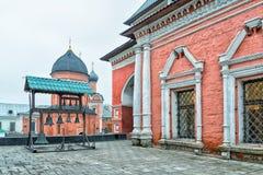 vysokopetrovsky kloster Arkivfoton