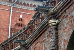 Vysokopetrovsky kloster i Moskva Royaltyfri Fotografi