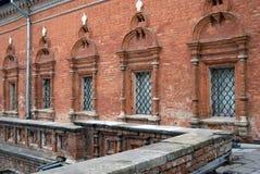 Vysokopetrovsky kloster i Moskva Arkivfoto