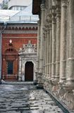 Vysokopetrovsky kloster i Moskva Royaltyfri Bild