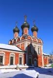 Vysokopetrovsky Monastery in Moscow Royalty Free Stock Photos