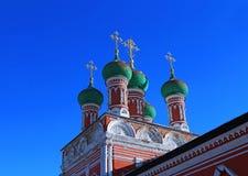 Vysokopetrovsky Monastery in Moscow Royalty Free Stock Image