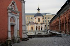 Vysokopetrovsky Monastery in Moscow Royalty Free Stock Photography