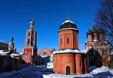 Vysokopetrovsky Monastery in Moscow Stock Photography